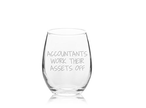 Accountant Gift | Account | Accountants Work Their Assets Off | Tax Season