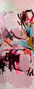 FASCINATINGLY BEAUTIFUL | Acrylic/Oil on Canvas | 152 x 61cm