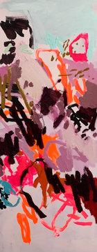 DANGEROUS LOVELINESS | Acrylic/Oil on Canvas | 152 x 61cm