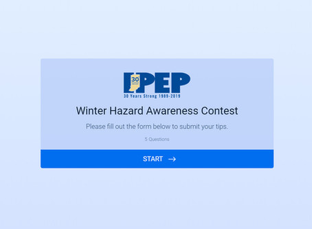 Winter Hazard Awareness Contest