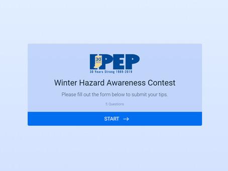 Winter Hazard Awareness Contest