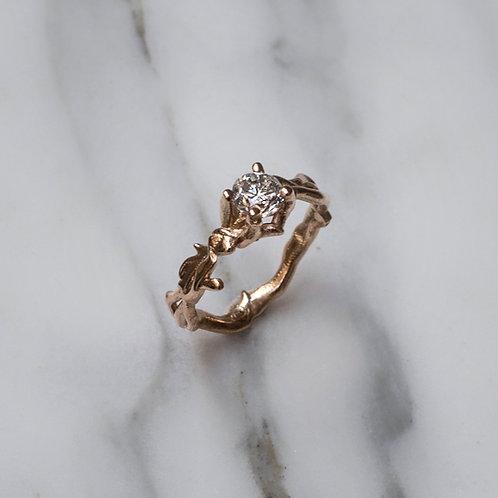 0.5ct Diamond Branch Ring
