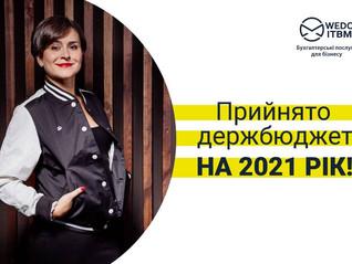 Прийнято держбюджет на 2021 рік. На які цифри звернути увагу?