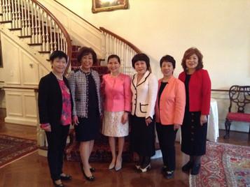 월드킴와 세계대회 준비 모임 워싱톤 DC 에서 개최/유미호건여사와의 환담