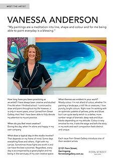Vanessa Anderson Artists - FOCUS Magazine Article