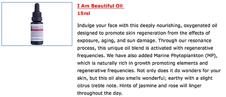 Ascended Health Face Oil