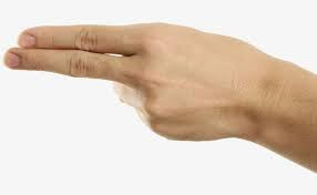 two finger touch