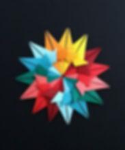 Composição com módulos de Origami