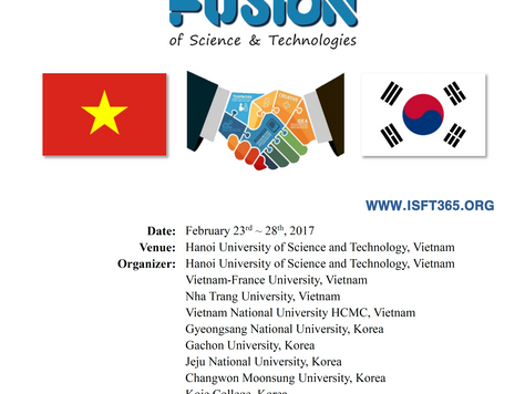 3rd Local-ISFT Vietnam - Scheduled to February, 2017