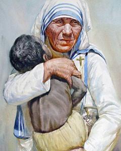 Santa Teresa de Calcutá, apóstola da misericórdia