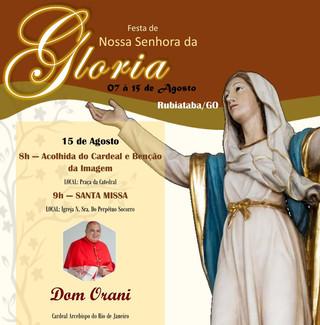 Cardeal Dom Orani visitará a Diocese