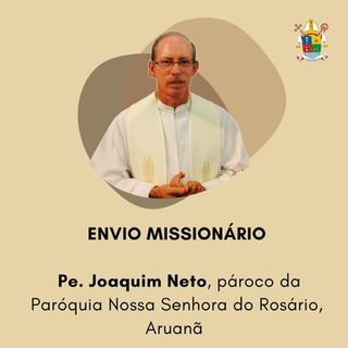 Nomeado novo pároco para Aruanã