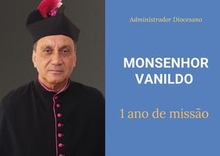 Gratidão: 1 ano da eleição do Administrador Diocesano