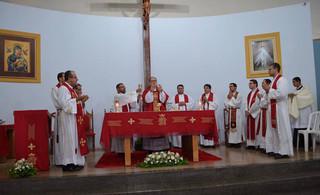 Gratidão aos padres Ademir e Ricardo pela missão em nossa diocese
