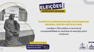 Em mensagem, bispos do Regional Centro-Oeste da CNBB oferecem orientações sobre as eleições municipa