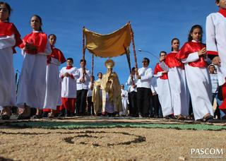 Corpus Christi: celebração da unidade em Rubiataba