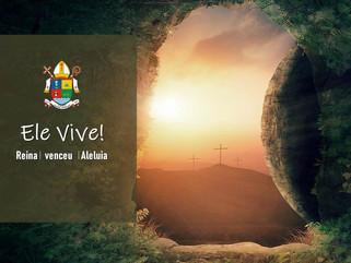 Páscoa na Diocese: A Paixão nos revigora para celebrarmos a Ressurreição