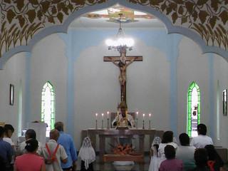 Atividades de evangelização em Nova América