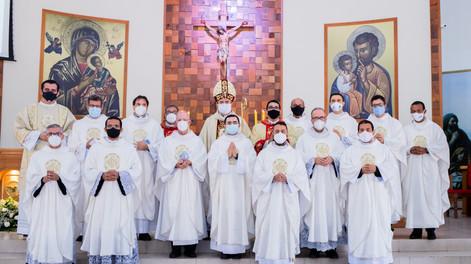 Dom Agamenilton preside a Missa do Crisma