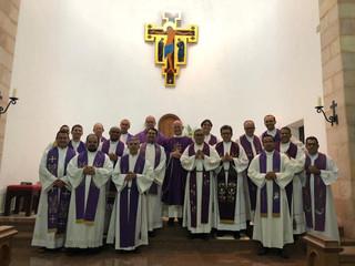 Clero Diocesano realiza exercícios espirituais