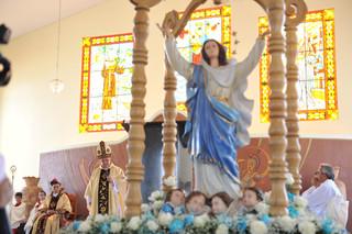 Peregrinação da  imagem de Nossa Senhora marca comemoração do Ano Jubilar