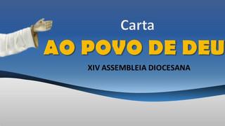 Diocese apresenta a Carta ao Povo de Deus