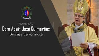 Dom Adair é nomeado para Diocese de Formosa