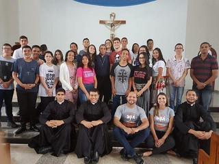 Despertar vocacional reúne jovens da diocese