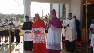 Primeiro Cardeal a visitar Rubiataba, Dom Orani Tempesta celebra solenidade de Nossa Senhora da Glór