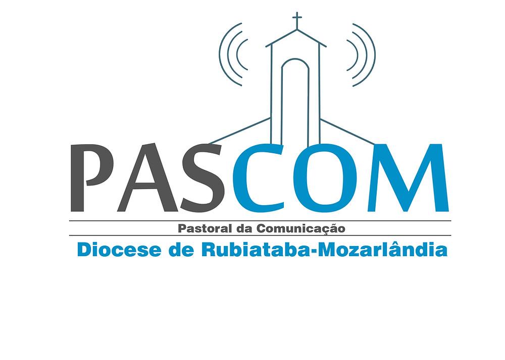 Logomarca da Pascom Diocesana elaborada pelo Seminarista Roger Melo