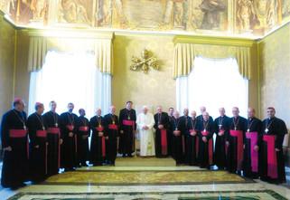 Visita 'ad Limina Apostolorum': manifestação da comunhão da Igreja