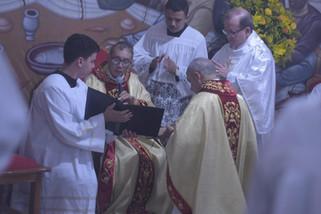 Padre Diomar assume a Paróquia de Faina