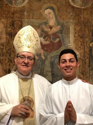 Seminarista Bruno é instituído no Ministério de Leitor
