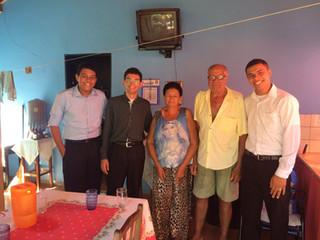 Seminaristas em missão de férias