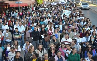 Ano Vocacional Mariano é tema da 8ª Romaria dos Catequistas a Trindade