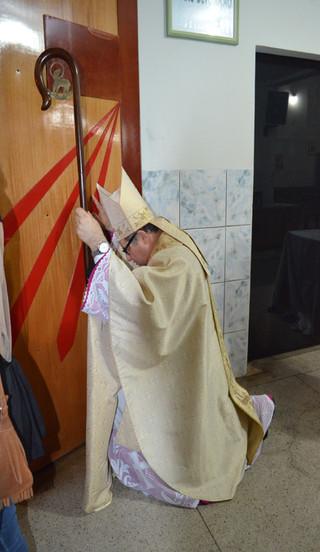 Imagem de Santa Ana visita a Diocese