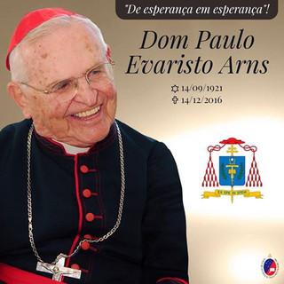 Cardeal Paulo Evaristo Arns de volta à casa do Pai