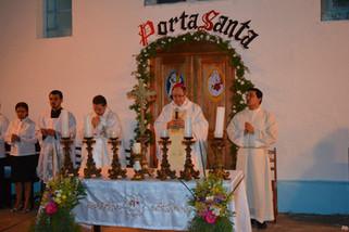 Uma Porta Santa na histórica capela de Aruanã