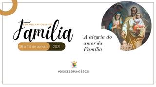 Diocese se prepara para a Semana Nacional da Família