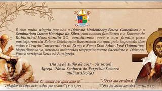 Para amar e servir: Diocese vai ganhar um novo diácono e sacerdote
