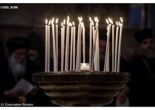 Encontro em Assis: as velas em intenção a cada país em guerra