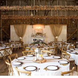 barn decorated by millers