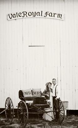 mock wedding 7 barn