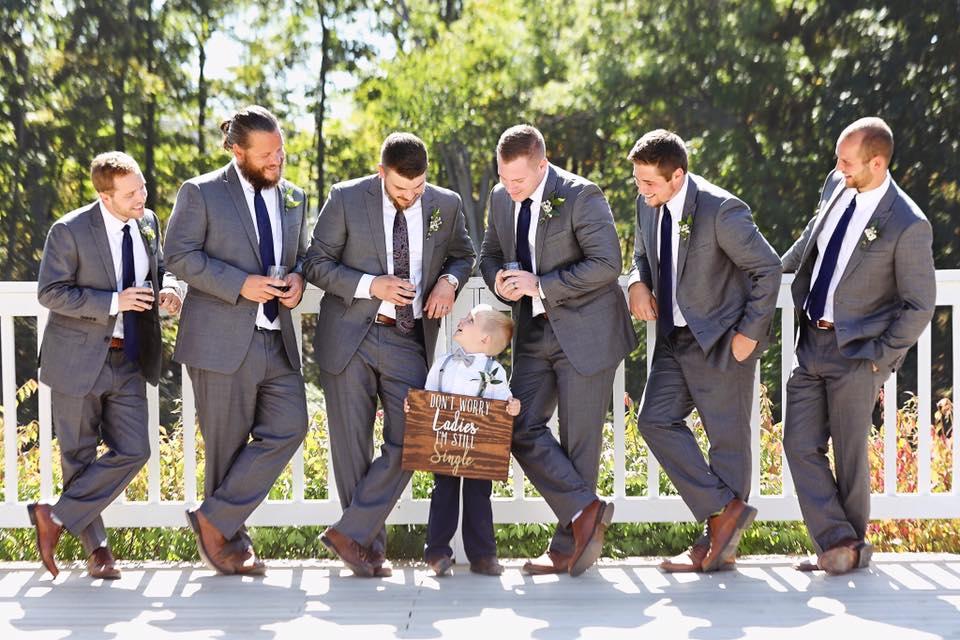 jordan dumsa groomsmen on deck