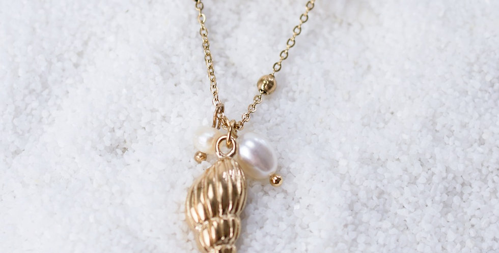 Kette Pearl&shell