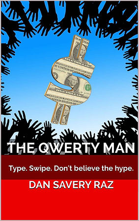 The Qwerty Man - dystopian satire book