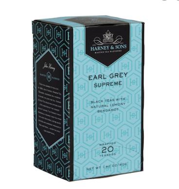 HARNEY AND SONS EARL GREY SUPREME PREMIUM TEA BAG 20 Sobres