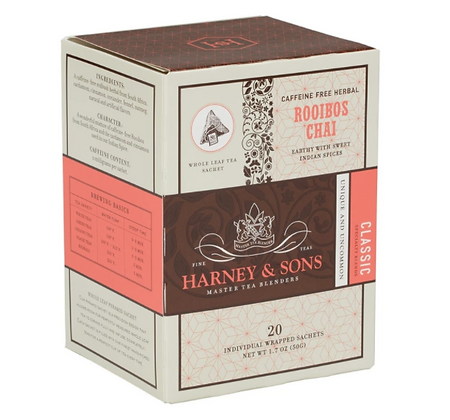 HARNEY AND SONS ROOIBOS CHAI SACHET 20 Sobres