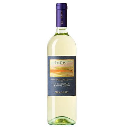 Castello Banfi Le Rime Chardonnay and Pinot Grigio 2019 750ml -Italia