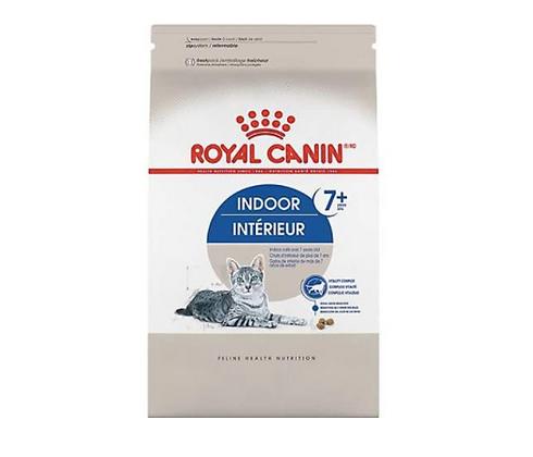 Indoor 7+ 2.5lb- Alimento equilibrado para gatos maduros que viven en interiores